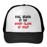 Asesino del zombi del portador de anillo gorros bordados