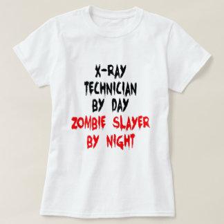 Asesino del zombi del técnico de la radiografía poleras