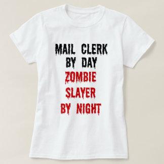 Asesino del zombi del vendedor de correo camisas