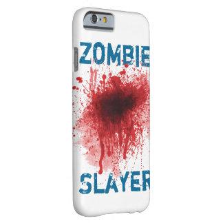 Asesino del zombi funda para iPhone 6 barely there