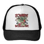 Asesino del zombi gorros bordados