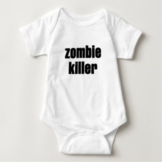 asesino del zombi playera