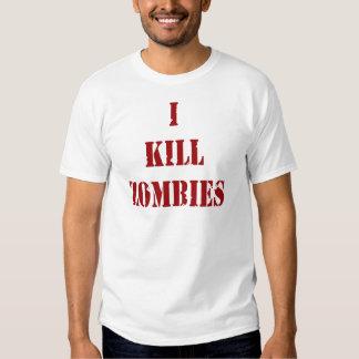 Asesino del zombi playeras