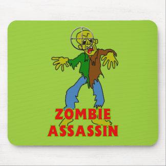 Asesino del zombi alfombrillas de ratones