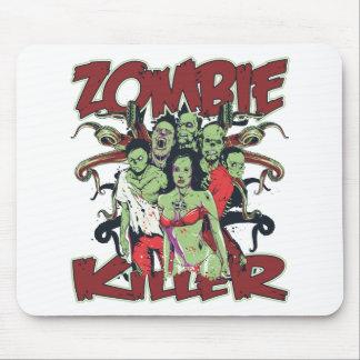 Asesino del zombi alfombrilla de raton