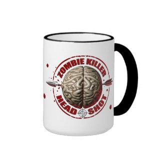 Asesino del zombi taza de café