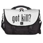 Asesino en serie bolsas para ordenador