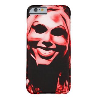 Asesino en serie enmascarado espeluznante funda de iPhone 6 barely there