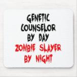 Asesino genético del zombi del consejero tapetes de ratón