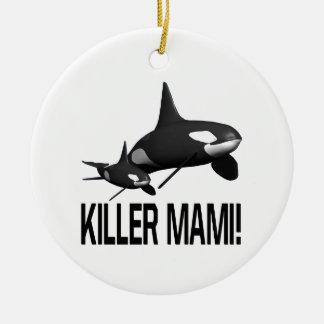 Asesino Mami Ornamento Para Arbol De Navidad