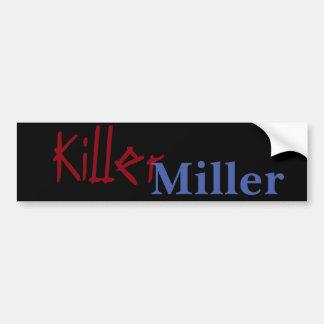 Asesino Miller Pegatina Para Auto