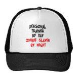 Asesino personal del zombi del instructor gorros