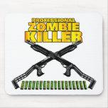 Asesino profesional del zombi alfombrilla de raton