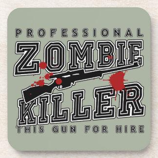 Asesino profesional del zombi posavasos