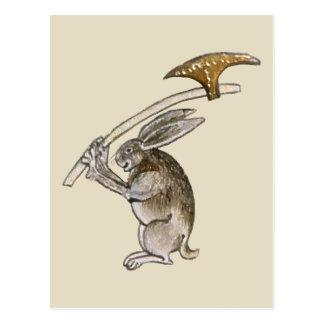 Asesino Rabbit Tarjetas Postales