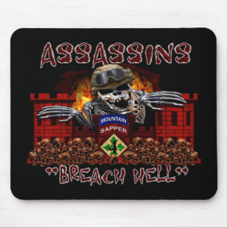 Asesinos 4BSTB/4IBCT/4ID Mouse Pads