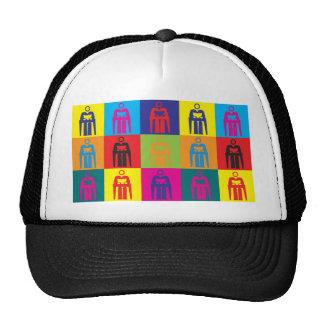 Asesoramiento de arte pop gorras de camionero