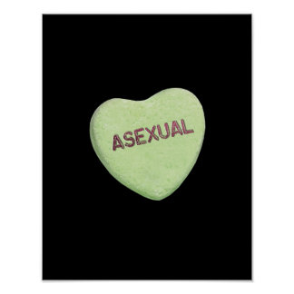 ASEXUAL CANDY -.png Poster