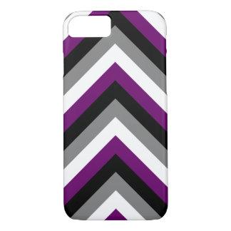 Asexual Chevron iPhone 8/7 Case