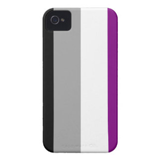 Asexual flag Blackberry Bold case