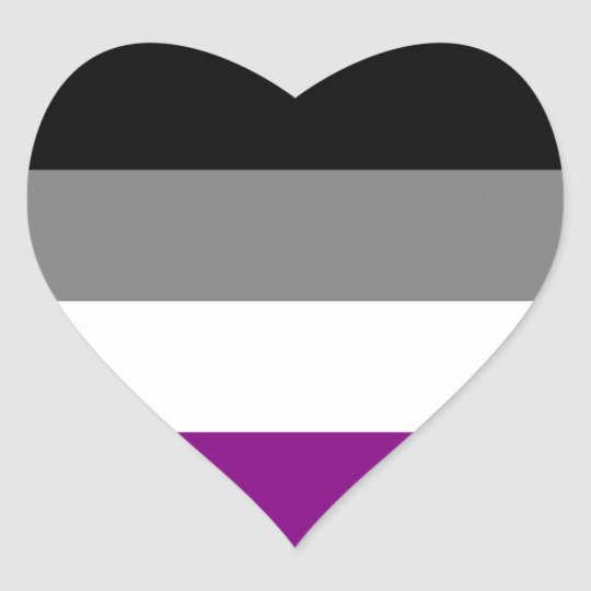Asexual flag emoji