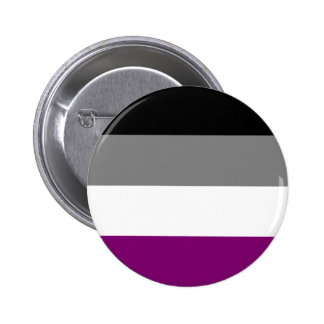 Asexual Flag Pinback Button