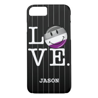Asexual Love Pride Flag iPhone 8/7 Case