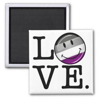 Asexual Love Pride Flag Magnet
