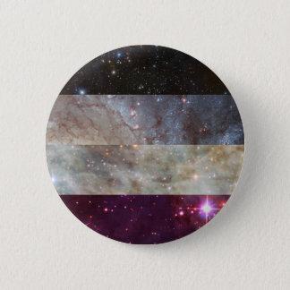 Asexual nebula flag pin