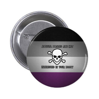 Asexual Pirates 2 Inch Round Button
