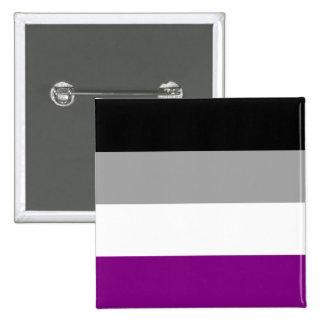 Asexual Pride 2 Inch Square Button