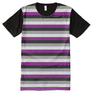 Asexual Pride All-Over Print Shirt