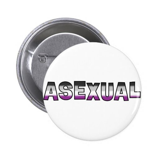 Asexual Pride Pinback Buttons