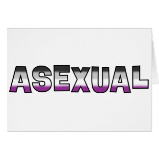 Asexual Pride Card