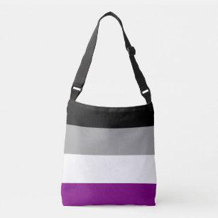 Ace Pride Flag Drawstring Bag