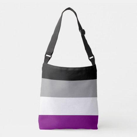 Asexual Pride Flag Crossbody Bag