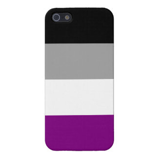 Asexual Pride Flag iPhone SE/5/5s Cover