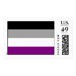 Asexual Pride Flag Postage Stamps