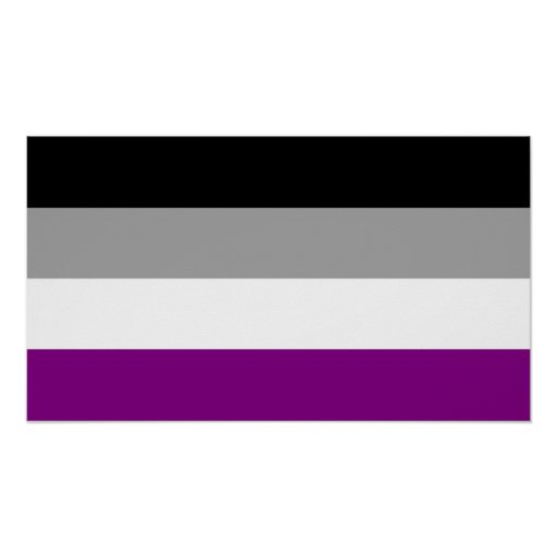 Bumper sticker design and print - Asexual Pride Flag Gifts T Shirts Art Posters Amp Other Gift Ideas