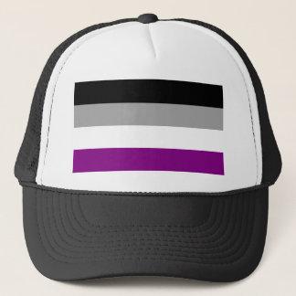 Asexual Pride Flag Trucker Hat