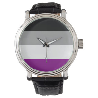 ASEXUAL PRIDE FLAG WRISTWATCHES