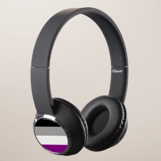 Asexual Pride Headphones