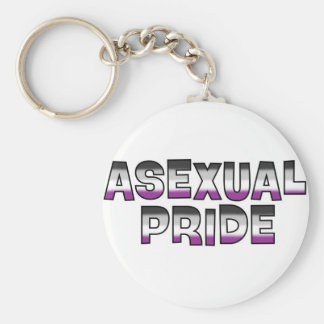 Asexual Pride Key Chains