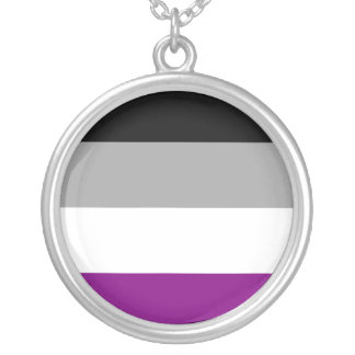 Asexual Pride Personalized Necklace