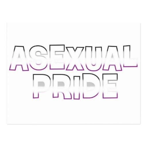 Asexual Pride Postcard