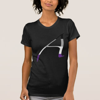 """Asexual Pride """"Scarlet"""" Letter A T-Shirt"""