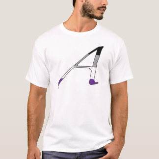 "Asexual Pride ""Scarlet"" Letter A T-Shirt"