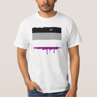 ASEXUAL PRIDE STRIPES DESIGN T-Shirt