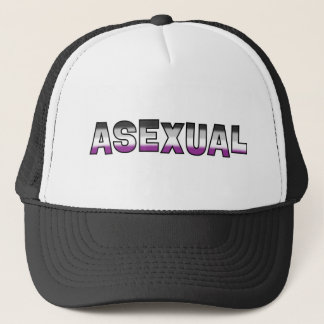 Asexual Pride Trucker Hat