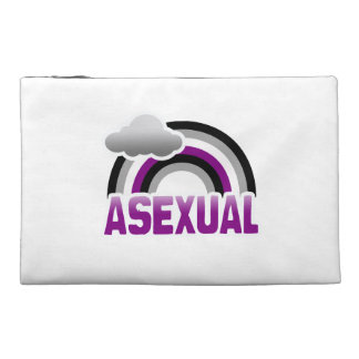 ASEXUAL RAINBOW TRAVEL ACCESSORIES BAGS